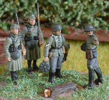 LLOYDIAN MODELLING TIPS: painting WW2 German figures