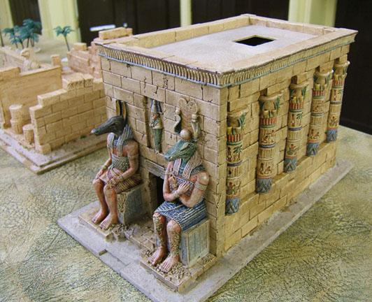 Lloydian Modelling Tips Making Scenery Egyptian Stone