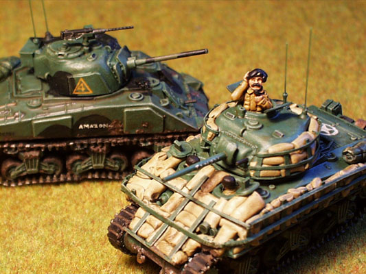LLOYDIAN MODELLING TIPS: Sherman tanks